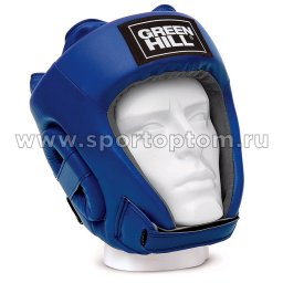 Шлем боксёрский Green Hill TRAINING PU HGT-9411 L Синий