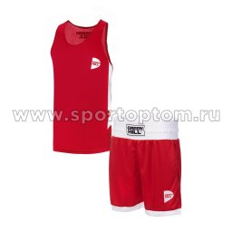 Форма боксёрская Green Hill INTERLOCK  BSI-3805 Красный