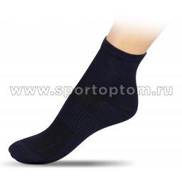 Носки спортивные средние хлопок ЛВ18-1 32-34 Синий