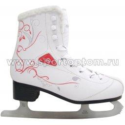 Коньки фигурные для фитнес-катания SENHAI VIORA PW-215CD                  Белый
