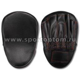 Лапа боксерская изогнутая SM и/к SM-095 28*18*5 см Черный