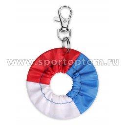 Сувенир брелок чехол для обруча INDIGO SM-393 6 см Красно-сине-белый