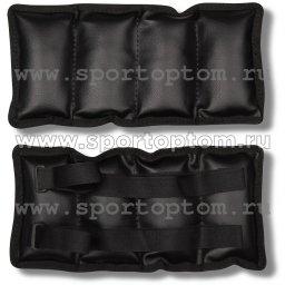 Утяжелители ПРОФИ и/к SM-150 2*1,0 кг Черный