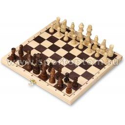 Шахматы деревянные Русские  300 -G                    29.5*29.5 см