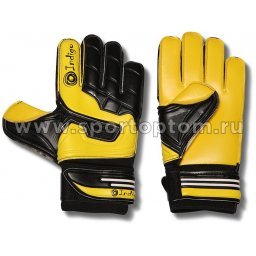 Перчатки вратарские INDIGO  200009 7 Черно-желтый