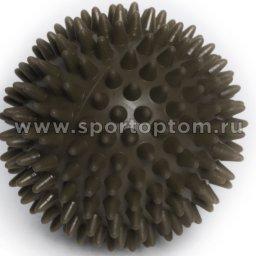Шарик массажный INDIGO 6992-2 HKMB  9 см Серый