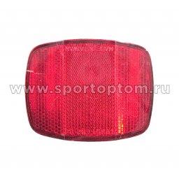 Вело Отражатель задний (пластик) HL-R03A Красный