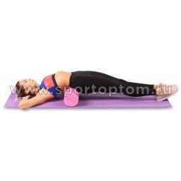 Ролик массажный для йоги INDIGO Foam roll (1)