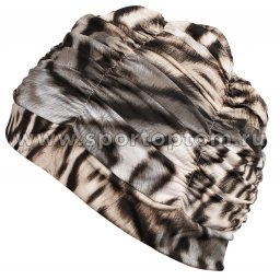 Шапочка для плавания ткань LUCRA SM женская  с драпировкой SM-092 Мультицвет (2)