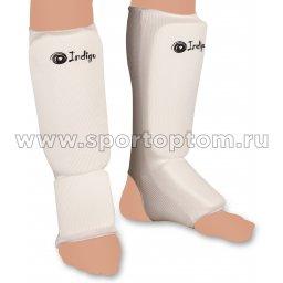 Защита голени и стопы INDIGO х/б, полиэстер PS-1316 L Белый