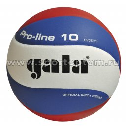 Мяч волейбольный GALA Pro Line 10 соревновательный клееный (PU) BV 5821 S CZ Бело-сине-красный