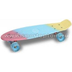Круизер INDIGO LS-P2206B  56,5*15 см Мультицвет Розово-Сине-Желтый