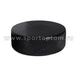 Шайба хоккейная взрослая Черный