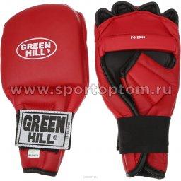 Перчатки для рукопашного боя (кун-фу) Green Hill и/к  PG-2045 L Красный