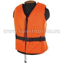 Жилет страховочный Молния до 100 кг SM-022      M-L Оранжевый