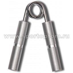 Эспандер кистевой пружинный INDIGO 35 кг алюминевые ручки 97036 IR/35 Серый металлик