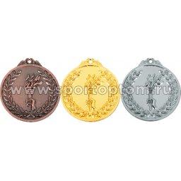 Медаль INDIGO d65мм  серебро, лента L**см 65046 ZS                  65 мм