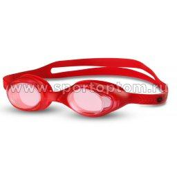 Очки для плавания детские INDIGO  G6115 Красный