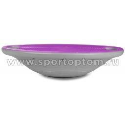 Диск балансировочный INDIGO пластиковый 97390 IR 40*10см Фиолетово-серый
