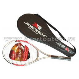 Ракетка для большого тенниса JOEREX в чехле, нач. уров. (ал. спл.) JTE770A