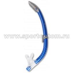Трубка  для плавания  INDIGO детская  (ПВХ, маскодержатель) IN064 Синий