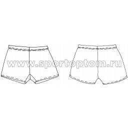 Шорты гимнастические детские  INDIGO SM-127 Черный (3)