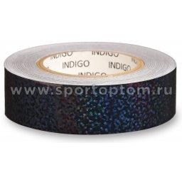 Обмотка для обруча с подкладкой INDIGO CRYSTAL IN139 20мм*14м Черный