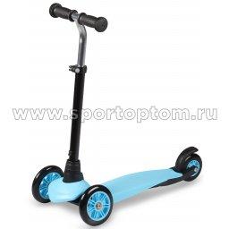 Самокат детский INDIGO BRAVE трехколесный до 30 кг IN245 Синий