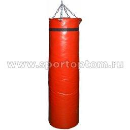 Мешок боксерский SM 75кг на цепи (армированный PVC) SM-240 75 кг Красный