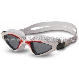 Очки для плавания INDIGO NEON  GS20-1  Бело-красный