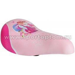 Вело Седло детское Принцесса Катя VS 12 240*140 мм Розовый