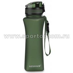 Бутылка для воды с сеточкой UZSPACE   тритан  6008 500 мл Зеленый