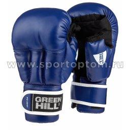 Перчатки для рукопашного боя Green Hill и/к  PG-2047 S Синий