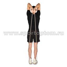 Эспандер трубка резиновая SM-075 Серый (4)