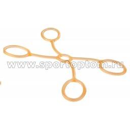 Эспандер 4-сторонний PRO SUPRA MEDIUM 1042 Оранжевый