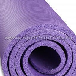 Коврик для йоги и фитнеса INDIGO NBR IN104 Сиреневый (5)