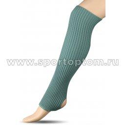 Гетры для гимнастики и танцев Шерсть СН1 40 см Салатовый