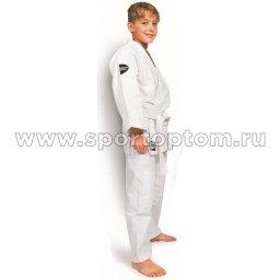 Кимоно  дзюдо 0/130 Green Hill JUNIOR хлопок куртка 350г/м2,брюки 180г/м2  JSJ-10226 0/130 Белый