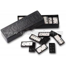 Домино пластиковое SM SM-014 Черно-белый