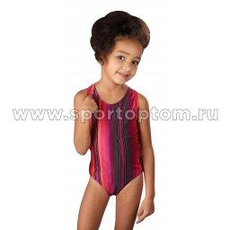 Купальник для плавания детский слитный набивной рисунок 4920 28