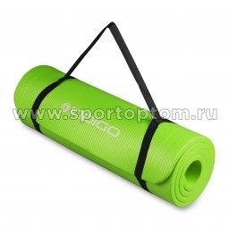 Коврик для йоги и фитнеса INDIGO NBR IN104 Зеленый (3)