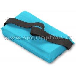 Подушка для растяжки INDIGO  SM-358 24,5*12,5 см Голубой