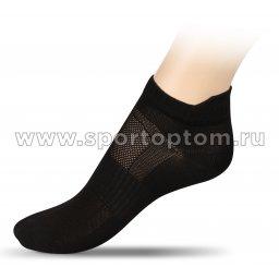Носки спортивные укороченные полипропилен ЛВ16 Черный
