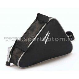 Вело Сумка подрамная  FB-05-1                   270*220*65мм Черно-серый