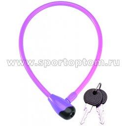 Вело Замок GOLDEN KEY GK-101.315 12*1000мм Фиолетовый