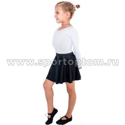 Юбочка гимнастическая лукра INDIGO SM-079 Черный (1)
