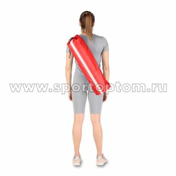 Чехол для коврика со светоотражающими элементами SM-382 75*22 см Красный