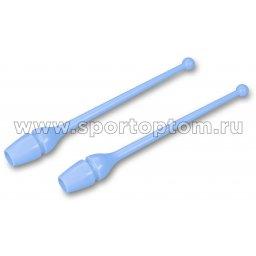 Булавы для художественной гимнастики INDIGO (термопластик) SM-352 36 см Голубой