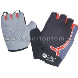 Перчатки вело детские INDIGO  SB-01-8827 Черно-серый