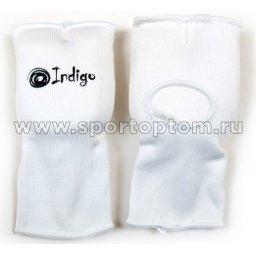 Накладки на кисть INDIGO х/б, эластан  PS-1305 L Белый